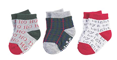 Mud Pie Merry And Bright Sock Set,Multicoloured,0-12 Months