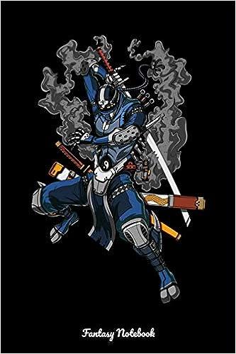 Fantasy Notebook: Ninja Robot Notebook: Cloud Tower ...