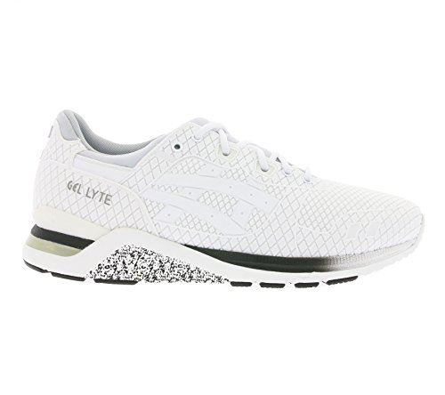 Bianco Sneakers Samurai Uomo Lyte Asics Poliestere Gel Pack q0g7Y