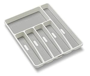 Madesmart 1-3/4 by 12.75 by 15.8-Inch Large Silverware Tray, White