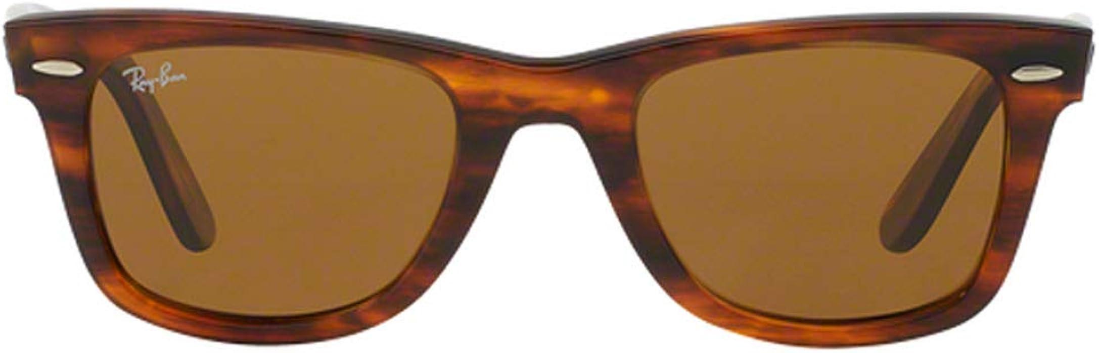 3b74164687316 Ray-Ban RB2140 Original Wayfarer Unisex Sunglasses (Tortoise Frame Brown  Lens 954