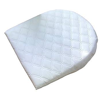 Baby Breath Easy Sleep Wedge Pillow Pram Moses Basket Crib Pillow