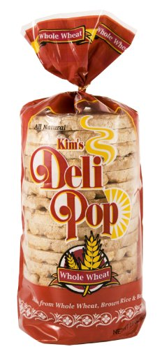 Grain Whole Rice Cakes (Kim's Deli Pop Whole Wheat Rice Cakes - 2.9 oz)