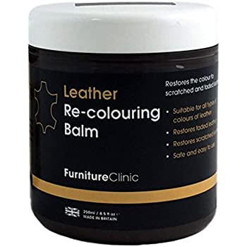 Superbe Furniture Clinic Leather Recoloring Balm U2013 Renew, Restore U0026 Repair Color To  Faded Scratched Leather | 21 Color Choices, Works On Couches, Car Seats, ...