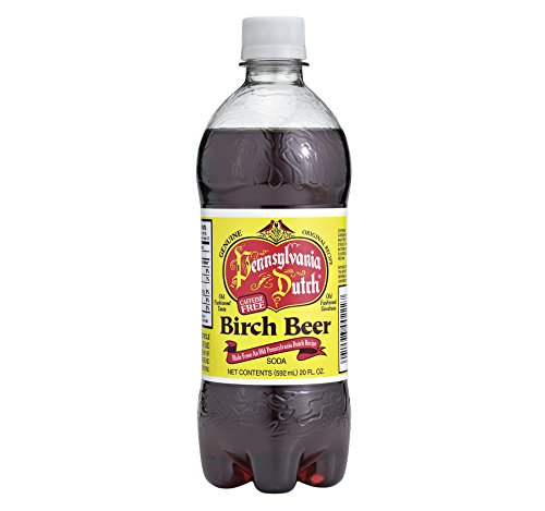 Dutch Birch Beer - Pennsylvania Dutch Birch Beer 20 Oz (12 Pack)