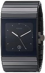 Rado Men's R21717152 Ceramica XL Black Dial Watch