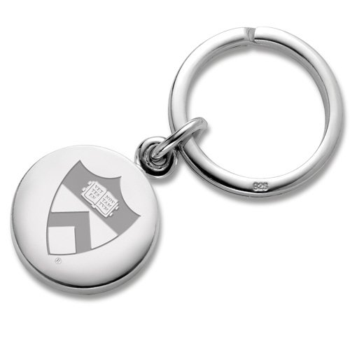 Princeton Sterling Silver Insignia Key Ring by M. LaHart