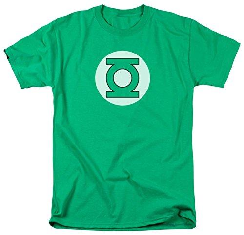 DC Comics Green Lantern Faded Logo Symbol T-shirt (X-Large)