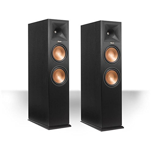 Klipsch RP280FA Tower Speaker w/ Dolby Atmos Height Channel (Black Pair) … by Klipsch
