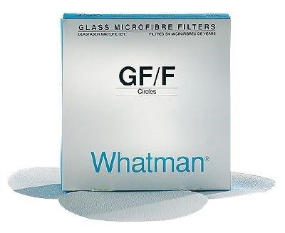 Whatman 1823-047 Glass Microfiber Binder Free Filter, 2.7 Micron, 2.2 s/100mL Flow Rate, Grade GF/D, 4.7cm Diameter (Pack of 100) - Whatman Glass Filter