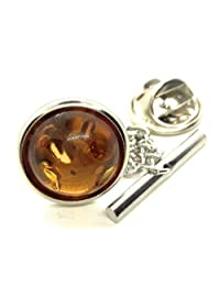 MENZ JEWELRY ACCS Baltic Amber TIE TACK