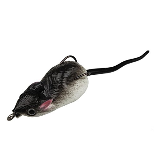 Robiear Rubber Mouse Fishing Tackle