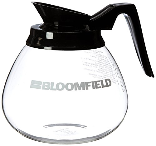 Bloomfield REG10112BLK Glass Decanter with Black Handle
