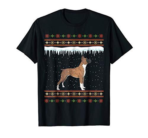 Boxer Ugly Christmas T-Shirt