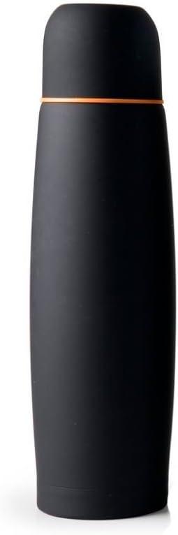 IBILI 745805 - Botella isotérmica para líquidos (Acero Inoxidable, 25 x 7 x 7 cm), Color Negro