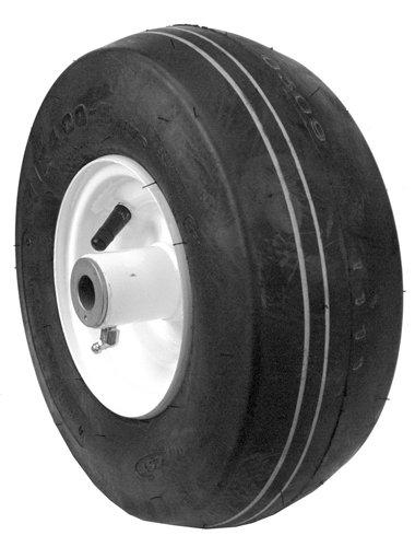 Rotary 11 X 400-5 Caster Wheel Assy 4 Ply Tube Type