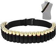 CS Force Shotgun Shell Bandolier Belt 12/20 Gauge Ammo Holder for Tactical Military Hunting(29 Rounds, 51.2