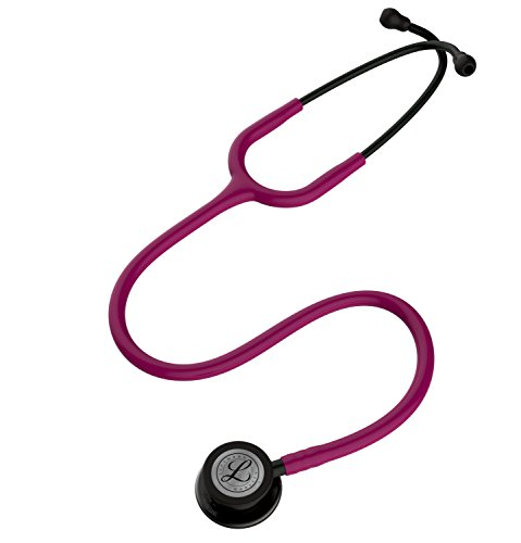 3M-Littmann-5871-Classic-III-Stethoscope-Smoke-Finish-Chestpiece-Raspberry-Tube-27