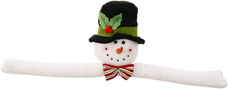 Santa Hugger Santa Claus Ornament With Bendable Arms Gray, S VWsiouev Christmas Tree Topper Santa Claus Hugger Snowman Hugger With Hat And Poseable Arms Christmas Tree Ornament for Christmas