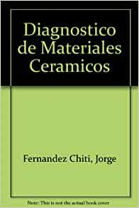 Diagnostico de Materiales Ceramicos (Spanish Edition