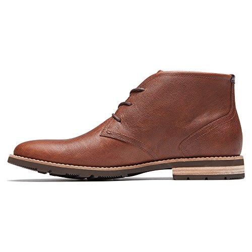 Rockport Mens Avsats Hill 2 Chukka Boots Drivved (tan)