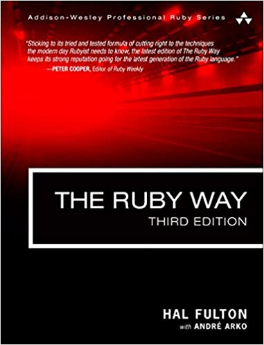 The ruby way solutions and techniques in ruby programming 3rd the ruby way solutions and techniques in ruby programming 3rd edition addison wesley professional ruby series 3rd edition fandeluxe Images