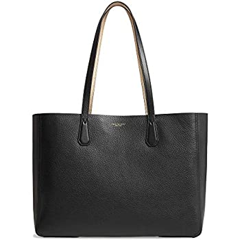 9300d294904b Tory Burch Perry Ladies Large Black   Gold Leather Reversible Tote 50376-002