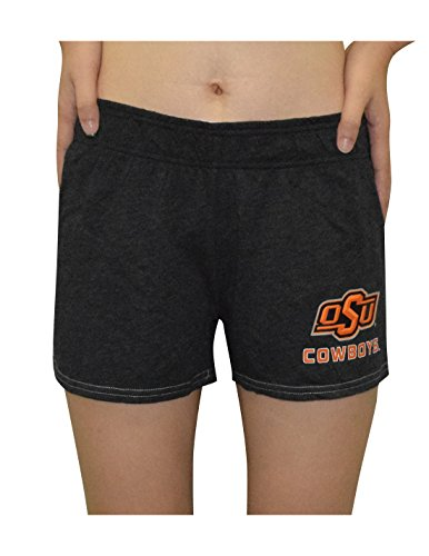 - NCAA OKLAHOMA STATE COWBOYS Womens Lounge / Pajama Shorts S Dark Grey