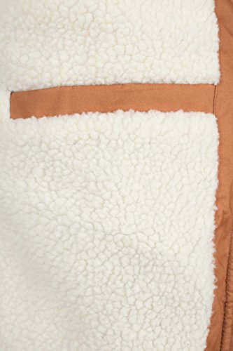 Braun Heavy Parka Imitation Classics Urban para Toffee 786 Fur Hombre Cotton 748xpq