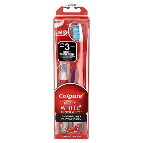 Colgate Max Expert Toothbrush And Whitening Pen White Buy