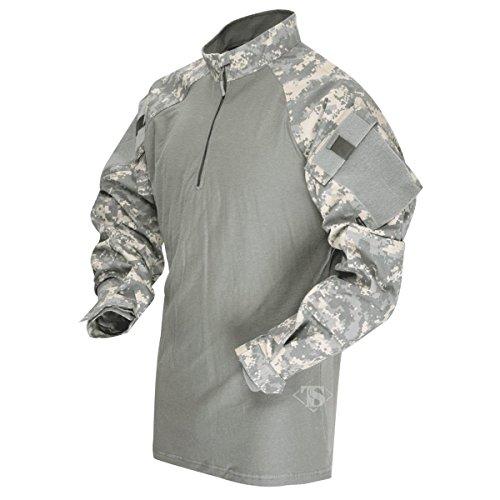 TACTICAL RESPONSE UNIFORM (TRU) 1/4-ZIP COMBAT SHIRT Army Digital/Foliage Large Regular