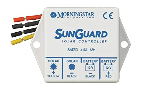 (HOME-OUTDOOR Sunguard SG-4 4.5 amp 12 Volt Solar Charge Controller Regulator by Morningstar Garden, Lawn, Supply, Maintenance)