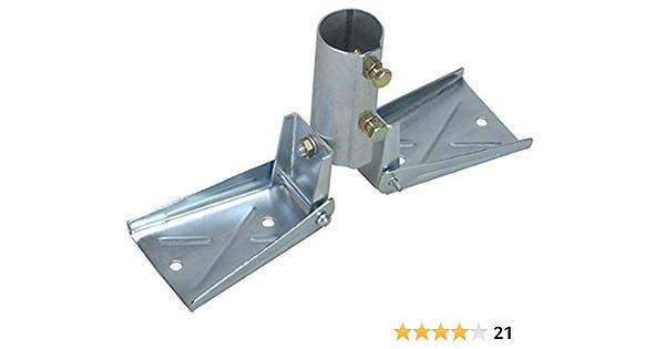 Heavy Duty soporte de techo para mástiles hasta 1 – 1/2