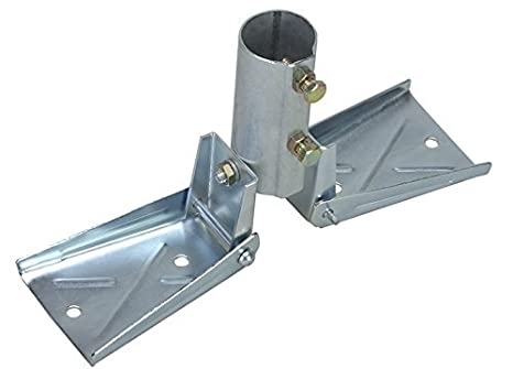 Heavy Duty Roof Mount for Masts up to 1-1/2