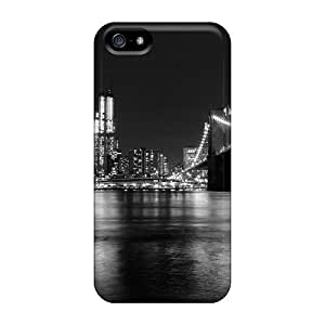 Cartoon Cloudy Day New York Diy For Touch 4 Case Cover Friend