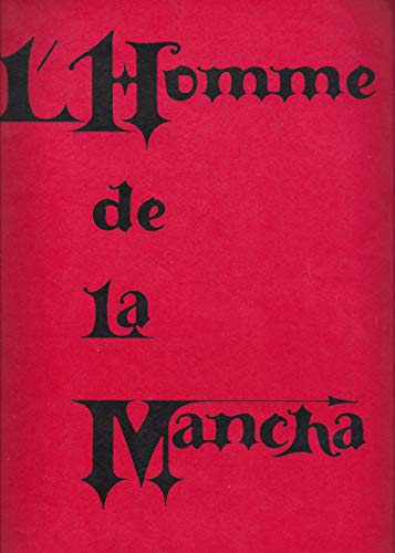"Jacques Brel""MAN OF LA MANCHA"" Joan Diener/Mitch Leigh/Original French Cast 1969 Souvenir Program"