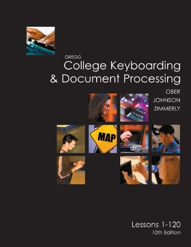 College Keyboarding & Document Processing: Word 2003, Kit 3 Lessons 1-120