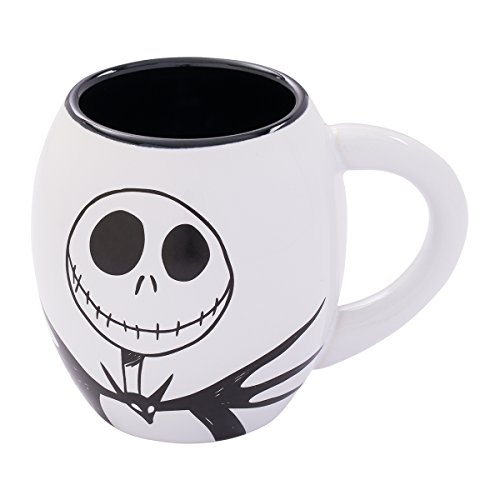 (Vandor The Nightmare Before Christmas Jack 18-Ounce Oval Ceramic Mug (84061))