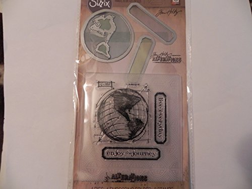 Sizzix Tim Holtz Alterations Stamp, Die & Texture Fade - The