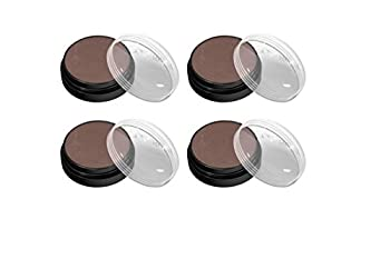 Lot of 4 CoverGirl Flamed Out Shadow Pot, Scorching Cocoa 355