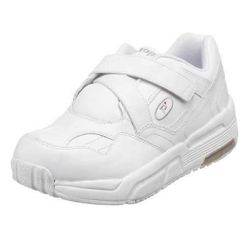 Propet Men's MPED25 Pedwalker 25 Walking Shoe,White Smooth,8 D (M)