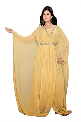 Kleider lang kkpf17270 und Maxi Damen Kleider Abend palasfashion Kaftan yg5YHw8pq