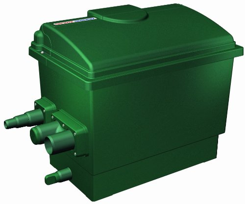 Fish mate 3000guv gravity uv bio pond filter home garden for Fish pond filter accessories