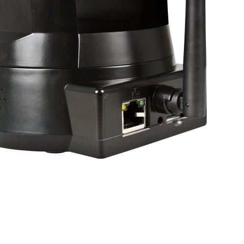 TENVIS Iprobot3 H.264 1/4 CMOS Wireless Indoor Control PTZ IP Network Camera Cámara de seguridad con la ayuda de la tarjeta de 32GB SD de visión del ...