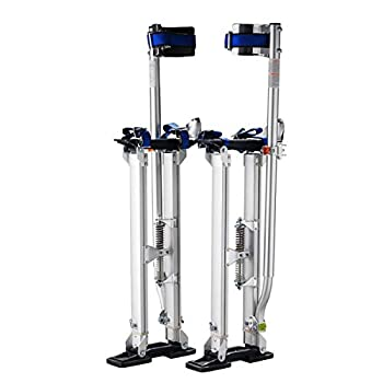 Image of 1119 Pentagon Tool'Tall Guyz' Professional 24'-40' Drywall Stilts For Sheetrock Painting or Cleaning Drywall Lifts