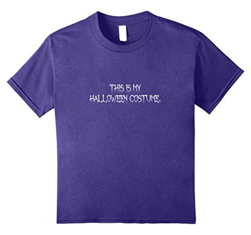 Dracula's Wife Halloween Costume (Kids Basic Halloween Costume t-shirt 10 Purple)
