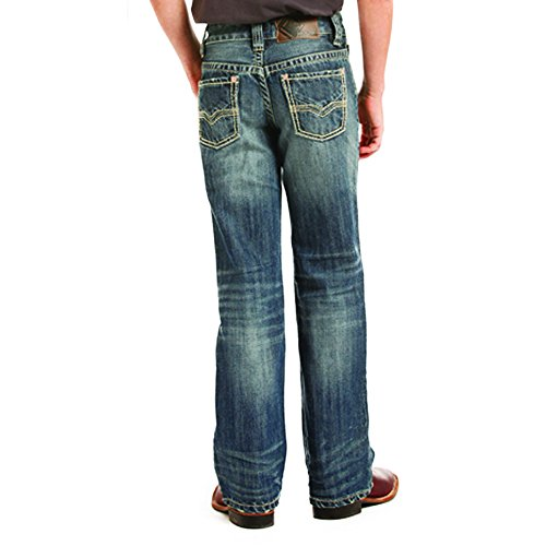 Panhandle Slim Mens WSL Boys BB Medium Wash Jean 7 (Panhandle Slim Rock)