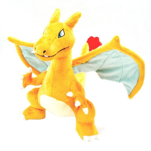 Pokemon-Figure-Charizard-Lizardon-Stuffed-Plush-Toy-Doll-13