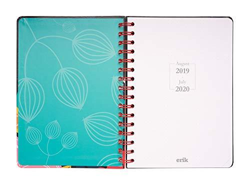 Agenda escolar 2019/2020 A5 12 meses Semana Vista Blummen