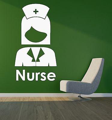 Wall Decal Nurse Hospital Pharmacy MFFicine Vinyl Stickers 2672